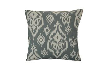 Accent Pillow-Bay Ikat Grey 18X18