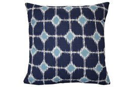 Accent Pillow-Key Hole Navy 18X18