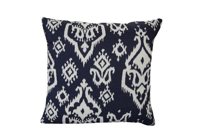Accent Pillow-Bay Ikat Blue 18X18 - 360