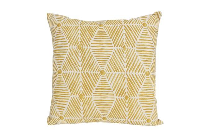 Accent Pillow-Tadaaki Mustard 18X18 - 360