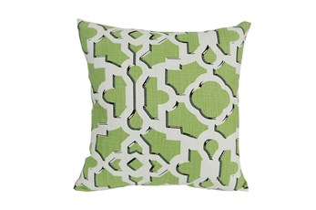 Accent Pillow-Island Gate Kiwi 18X18