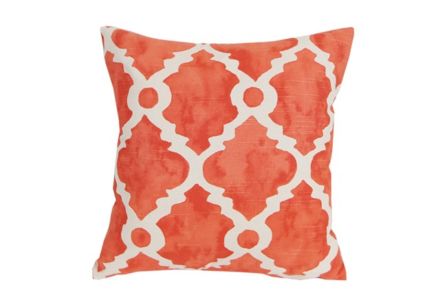 Accent Pillow-Faded Clover Coral 18X18 - 360