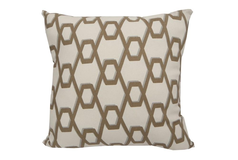 Accent Pillow-Gold Helix 18X18