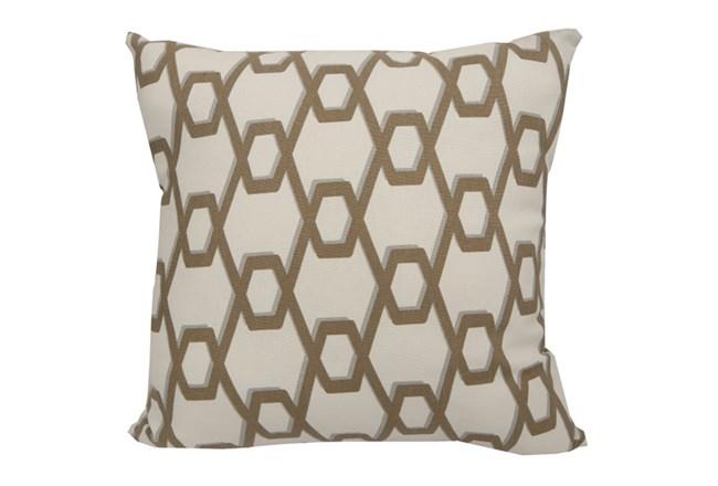Accent Pillow-Gold Helix 18X18 - 360