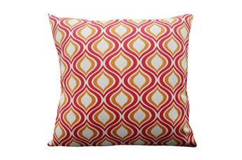 Accent Pillow-Open Up Red 18X18