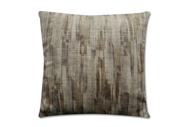 Accent Pillow-Watermark Taupe 22X22 - 360