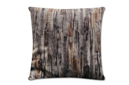 Accent Pillow-Watermark Grey 22X22