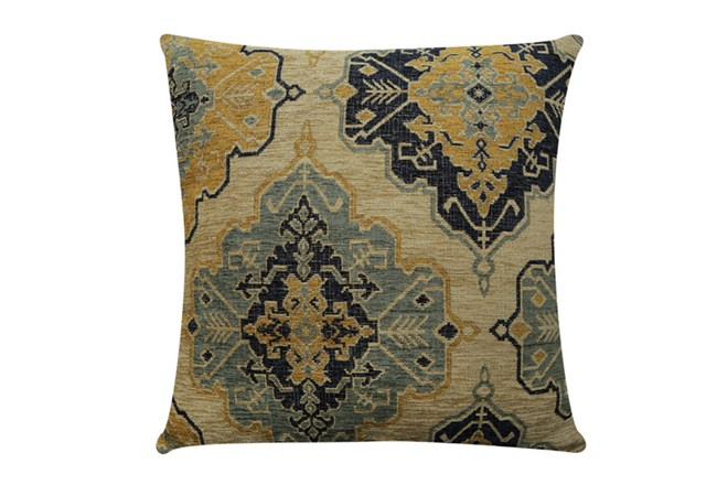 Accent Pillow-Tapestry Gold 22X22 - 360
