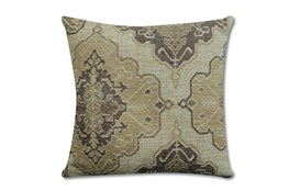 Accent Pillow-Tapestry Taupe 22X22