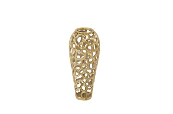 Gold Decorative Vase Small
