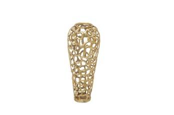 Gold Decorative Vase Medium