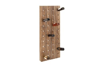 20 Inch Wood Wine Rack