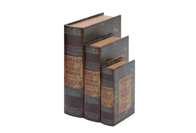3 Piece Set World Poetry Boxes - 360