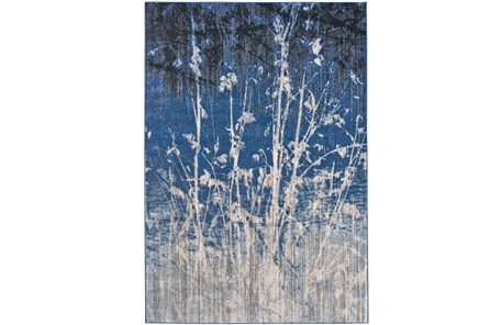 26X48 Rug-Royal Blue Meadow