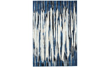 63X90 Rug-Royal Blue Watermark Strie