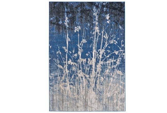 63X90 Rug-Royal Blue Meadow - 360
