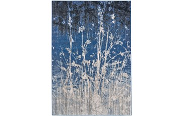 122X165 Rug-Royal Blue Meadow