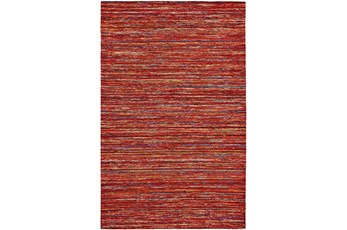 60X96 Rug-Cyril Red