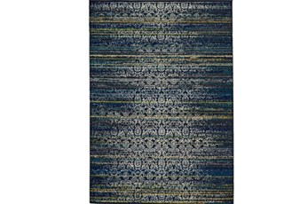 26X48 Rug-Cobalt Distressed Tapestry