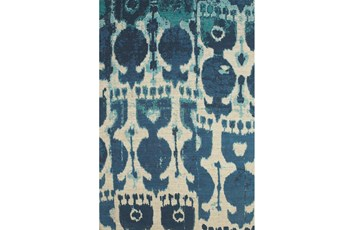60X96 Rug-Yyves Blue And Teal