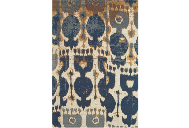 60X96 Rug-Yves Navy And Copper - 360