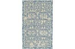 42X66 Rug-River Blue Distressed Tapestry