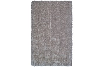 60X96 Rug-Mottled Grey Shag