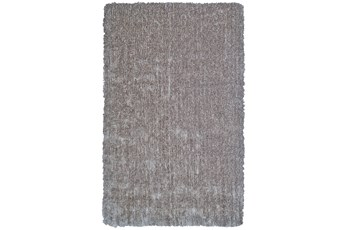 114X162 Rug-Mottled Grey Shag