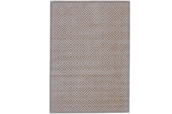 120X158 Rug-Taupe And Birch Diamonds