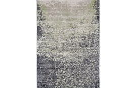 120X158 Rug-Charcoal And Lime Crackle