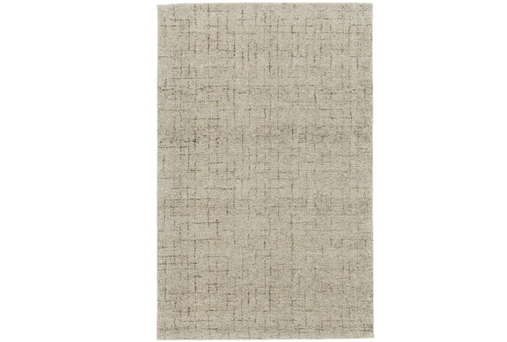 60X96 Rug-Oatmeal Stitching