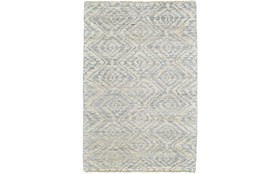 66X102 Rug-Mist Blue Ganando Pattern