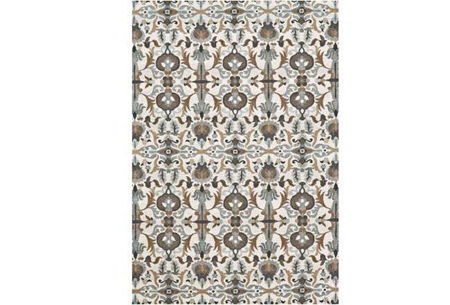 120X158 Rug-Granite Deco Floral - 360