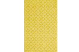 114X162 Rug-Yellow Tonal Starbursts
