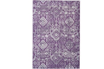 120X158 Rug-Violet Turkish Pattern