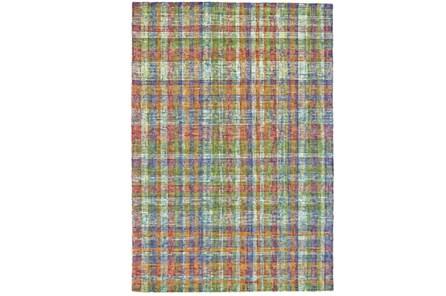 114X162 Rug-Cayman Multi Color Plaid