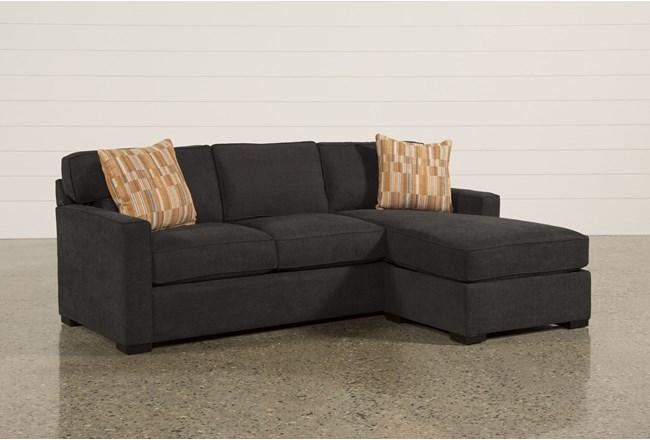 Taren Reversible Sofa/Chaise Sleeper W/Storage Ottoman - 360
