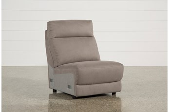Kerwin Dark Grey Armless Chair