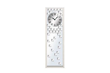 42 Inch Glass Mirror Clock
