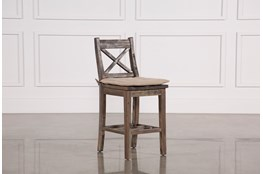 Mallard Counter Stool W/Cushion