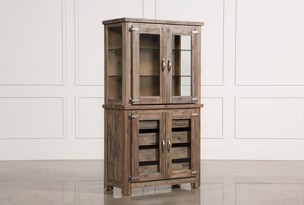 Mallard Glass Door Curio Cabinet