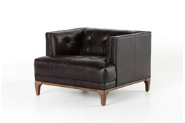 Rider Black Accent Chair