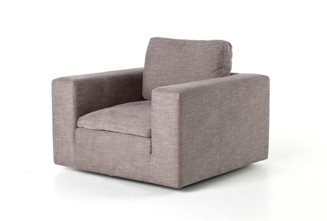 Harbor Grey Swivel Accent Chair - 360