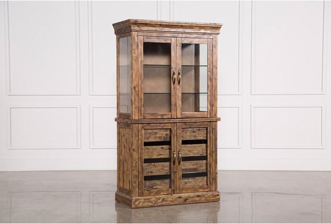 Partridge Glass Door Curio Cabinet - 360