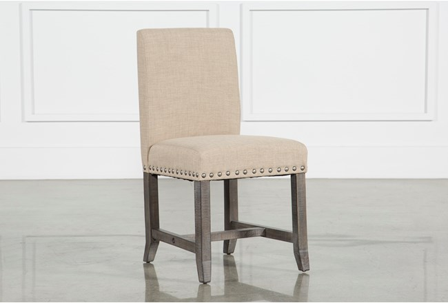 Jaxon Grey Upholstered Side Chair - 360