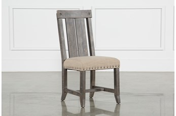 Jaxon Grey Wood Dining Side Chair
