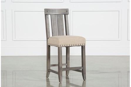Jaxon Grey Wood Counterstool