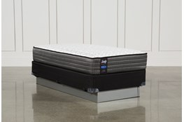 Butterfield Cushion Firm Twin Mattress W/Foundation