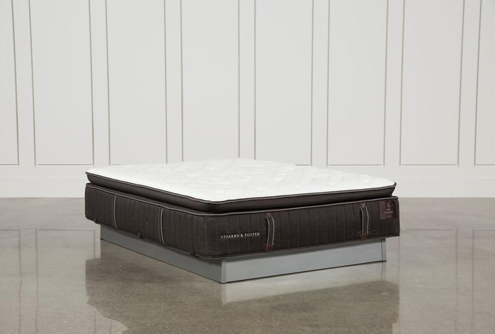 Trailwood Luxury Plush Euro Pillow Top Queen Mattress