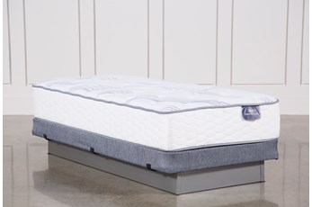 Coralview Plush Twin Mattress W/Low Profile Foundation
